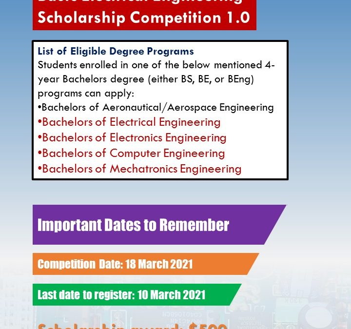 Basic Electric Circuits International Engineering Scholarship Competition 1.0
