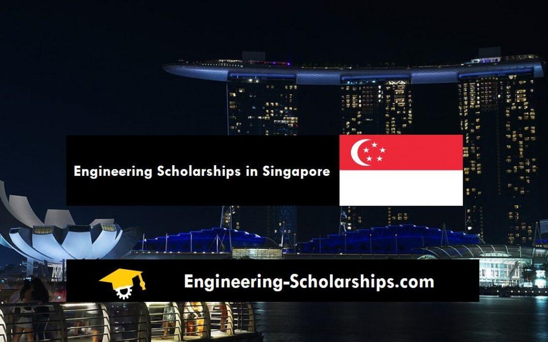 4-year SINGA PhD Scholarship for International Students – PhD Engineering Scholarship in Singapore